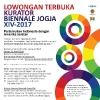Lowongan Terbuka Kurator Biennale Jogja XIV - 2017
